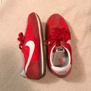 Red Nike Tennis shoes